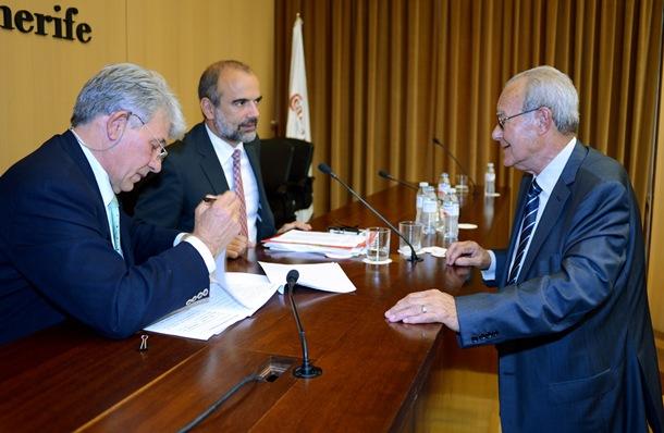 Ignacio Gonzalez y Jose Luis Garcia  camara de comercio