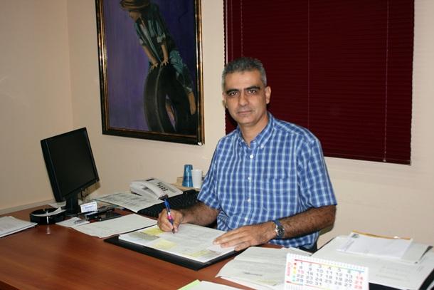 Juan Rodríguez Bello concejal de Urbanismo en el Ayuntamiento de Granadilla