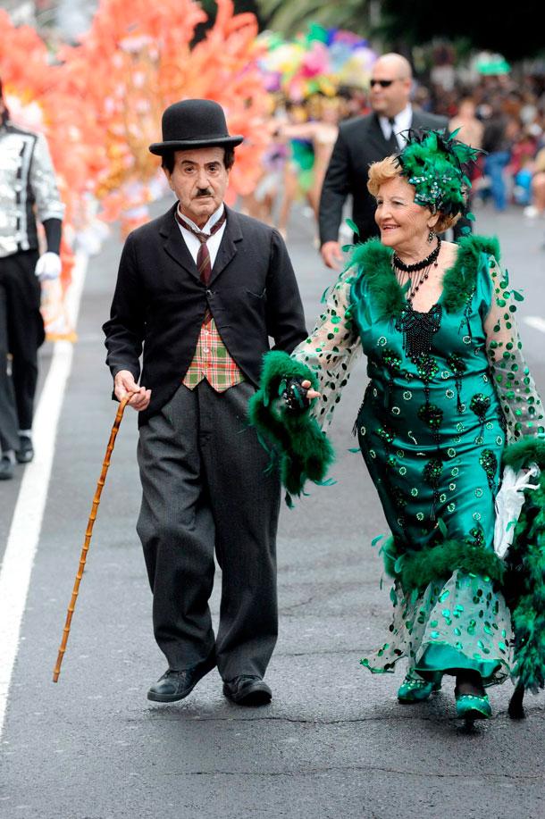 Una parte del Carnaval chicharrero se va con Pedro Gómez Cuenca. / ARCHIVO