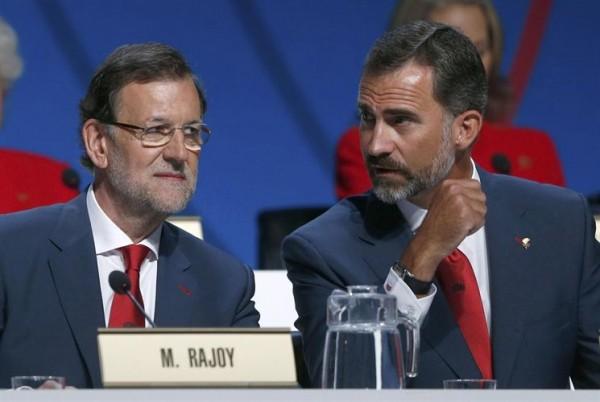 El presidente del Gobierno, Mariano Rajoy, ha defendido ante los miembros del COI, que en unas horas votarán la ciudad que organizará los Juegos Olímpicos y Paralímpicos de 2020, la base financiera de la candidatura de Madrid. / EP