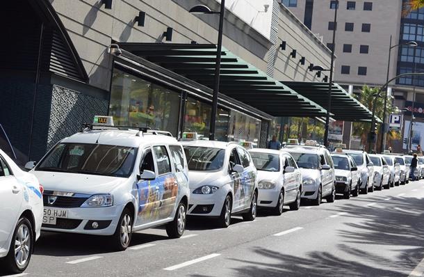 Parada taxis Santa Cruz