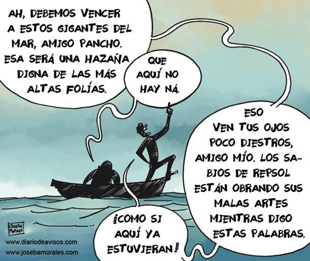 Vineta Joseba Morales Garabatos Quijotes