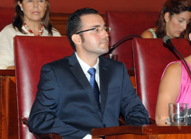 Zózimo Darias concejal deportes Santa Cruz