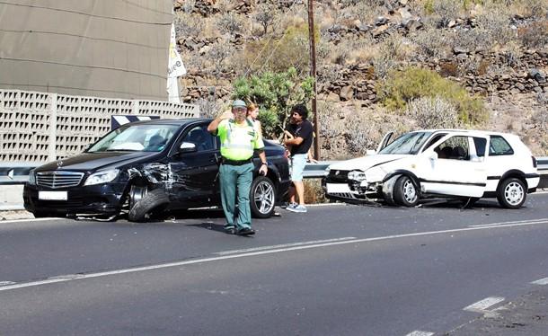 carretera de Armeñime accidente
