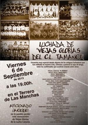 cartel luchada viejas glorias Tamanca