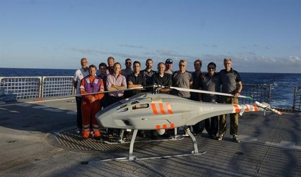 vehículo aéreo no tripulado keldar V-200
