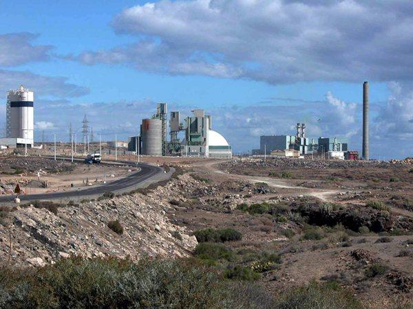 El polígono industrial de Granadilla
