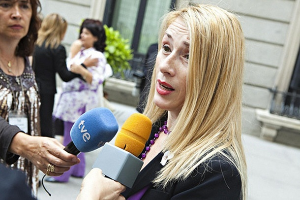 presidenta de Acavite, Lucía Jiménez.