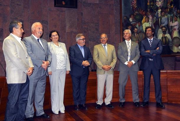 presidentes Cabildos reunión FECAI