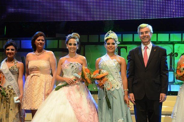 Clara María Díaz, fue la elegida como reina de las fiestas del Cristo/ DA
