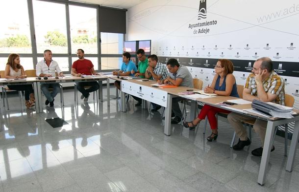 reunión concejal educación Adeje con directivos de los colegios e institutos