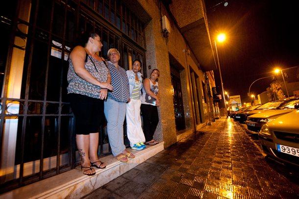 La UTS de Barranco Grande, una de las oficinas desbordadas por la demanda de ayudas. / FRAN PALLERO