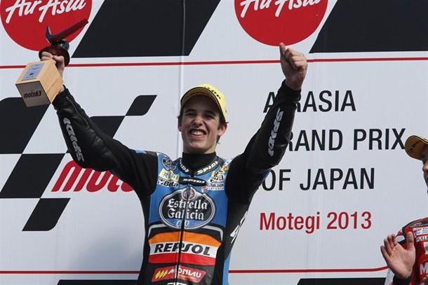 El piloto español de Moto3 Álex Márquez