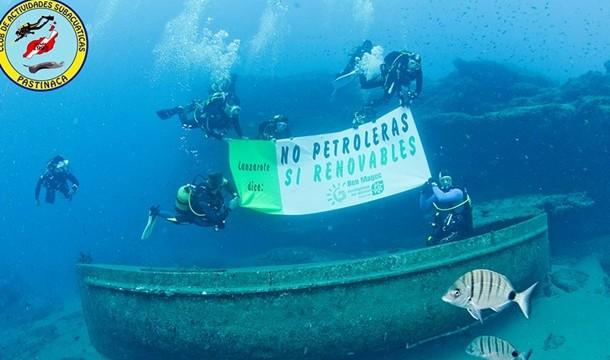 Bajo el mar, contra el petróleo