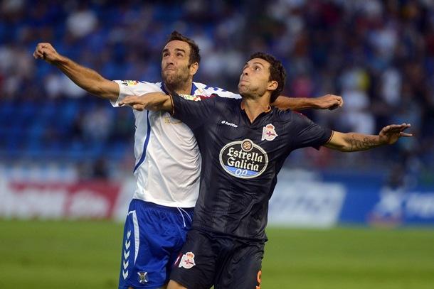 CD Tenerife y el Deportivo de La Coruña.
