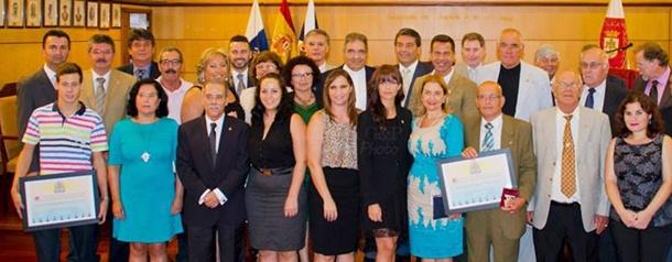 premios Afables del Turismo del CIT Candelaria