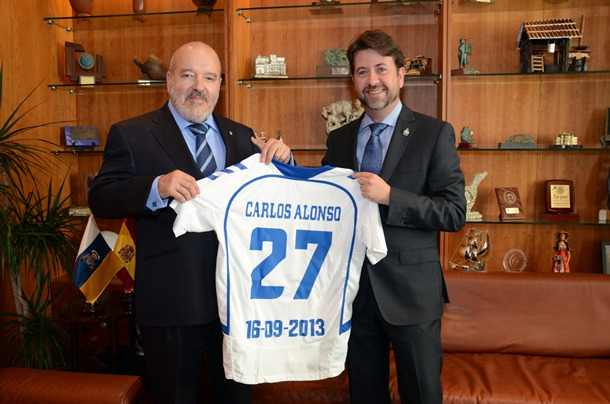 Carlos Alonso y Miguel Concepcion
