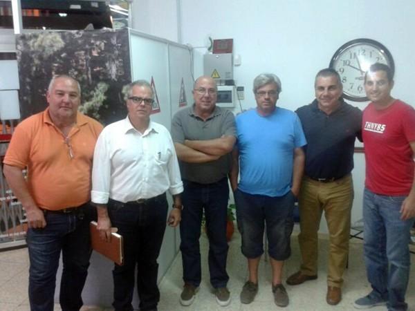 Un momento de la reunión del Comité de Vehículos Clásicos de Tenerife. | DA