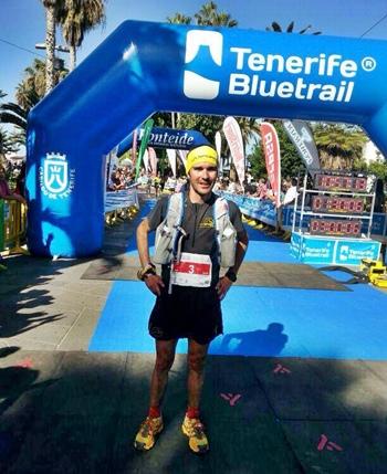 David López Tenerife BlueTrail