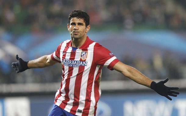 Diego Costa Atlético de Madrid