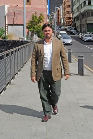 Jaime González-Abad fue concejal en el Ayuntamiento capitalino. | F. P.
