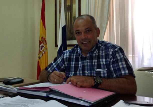 Javier Mederos, concejal de Hacienda de Güímar