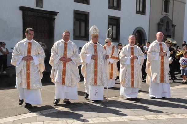 Jesús Mendoza Bernardo Alvarez Obispo de Tenerife