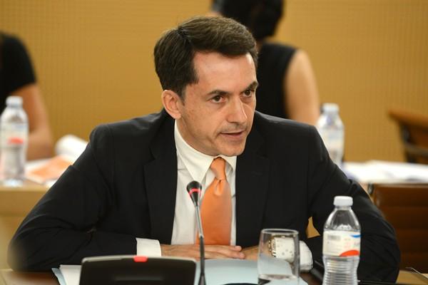 José Joaquín Bethencourt, en una sesión plenaria. | SERGIO MÉNDEZ