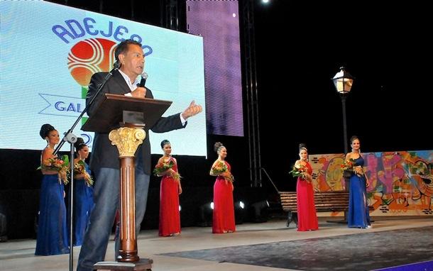 Jose Miguel Rodriguez Fraga gala Adeje 80