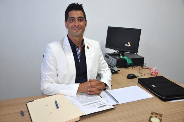 El concejal de Igualdad del Ayuntamiento de Adeje, Desiderio Afonso