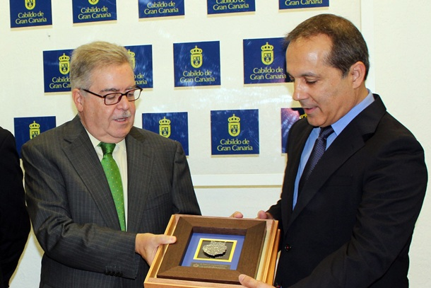 Luis Monzón y José Carlos Déniz.