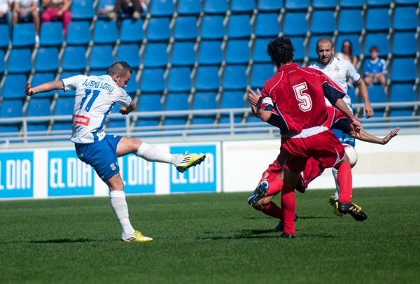 Luismi Loro finaliza contrato con el club insular el próximo 30 de junio de 2014.   SERGIO MÉNDEZ