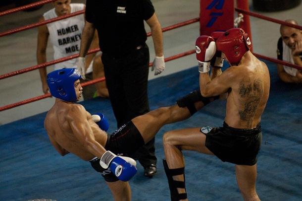 Maikel y Adrian Kickboxing