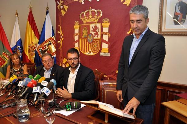 Rodolfo León alcalde de Tacoronte