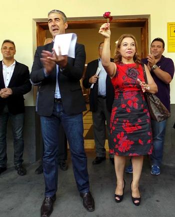 moción de censura en Tacoronte Rodolfo León y Teresa Barroso