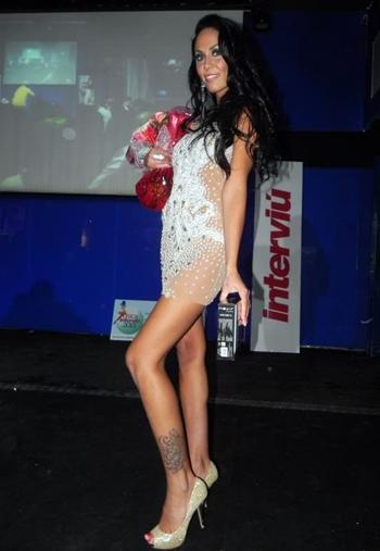 Rebeca Matos tras la gala Chica Interviú
