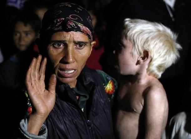 Sasha Ruseva madre niña rubia 'María' que abandonó en Grecia