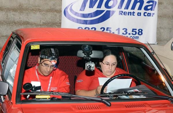 Varios momentos de la VII Classic Ciudad de La Laguna, que organizó la Escudería Aguere y que congregó a equipos y aficionados. | SERGIO MÉNDEZ