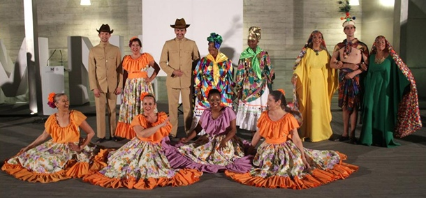 grupo folclórico Yacambú.