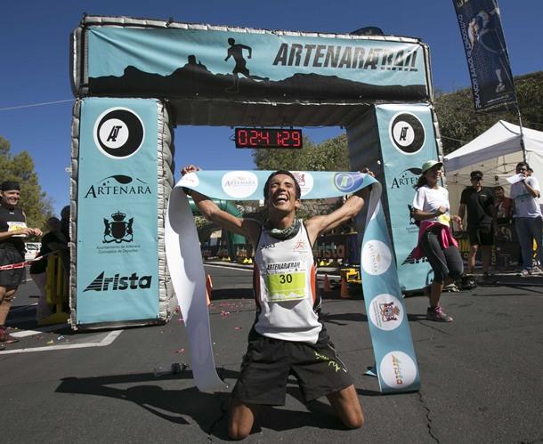 Zaid Ait Malek ganador Artenara Trail