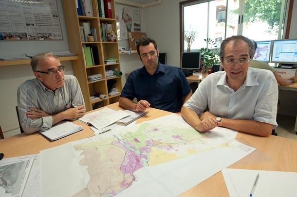 Walter Beltrán, Agustín Cabrera y Gumersindo Trujillo,