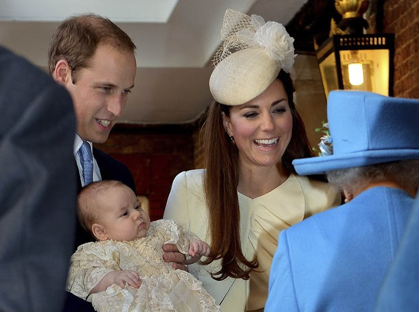 bautizo casa real Gran Bretaña
