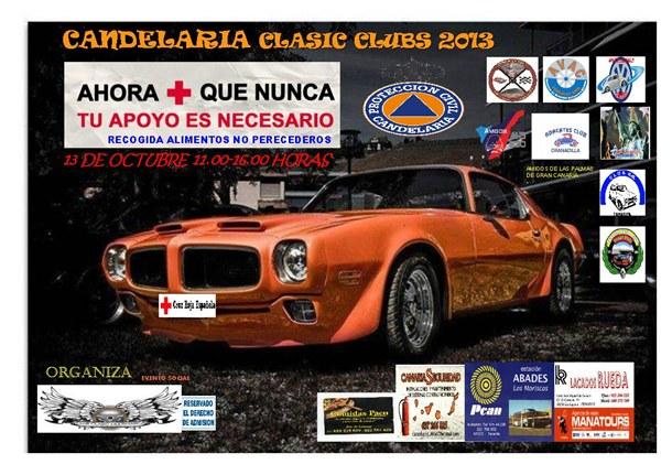 concentración de coches clásicos CANDELARIA