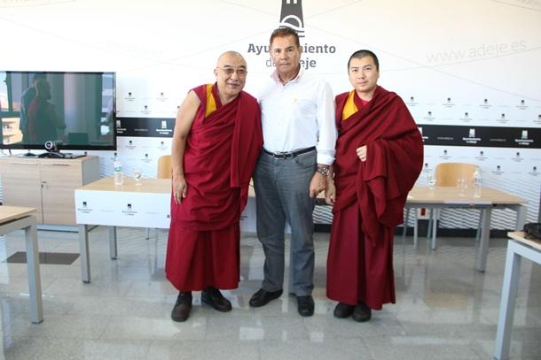 José Miguel Rodriguez Fraga Adeje , Thamthog y Rinpoche