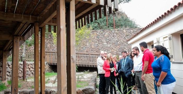 El Cabido de Tenerife inaugura el nuevo Centro de Visitantes de Erjos