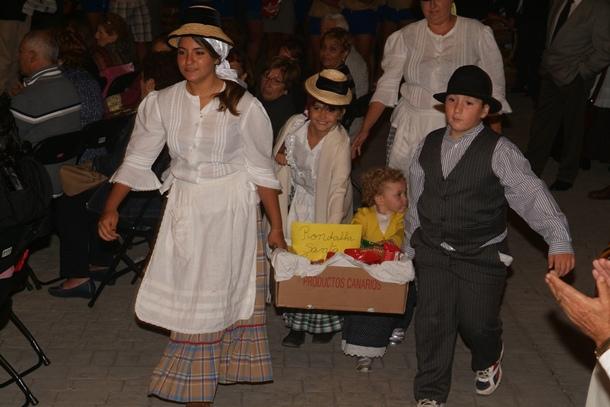 fiestas del barrio de Machado en honor de la Virgen del Rosario
