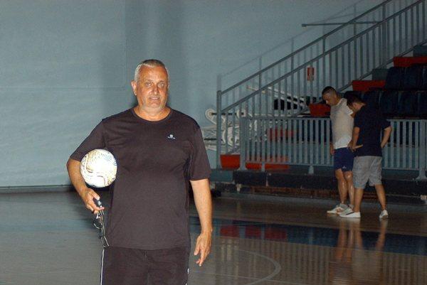 Francis Arocas, durante un entrenamiento. / DA