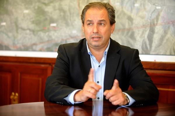 José Luis Delgado, consejero de Carreteras del Cabildo de Tenerife. | J. G.