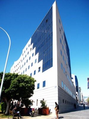 La Fiscalía se ubica el edificio de los juzgados de Tres de Mayo.   J. GANIVET