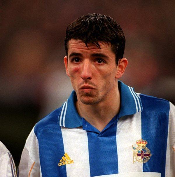 Roy Makaay fue traspasado al club gallego en el verano de 1998. / DA